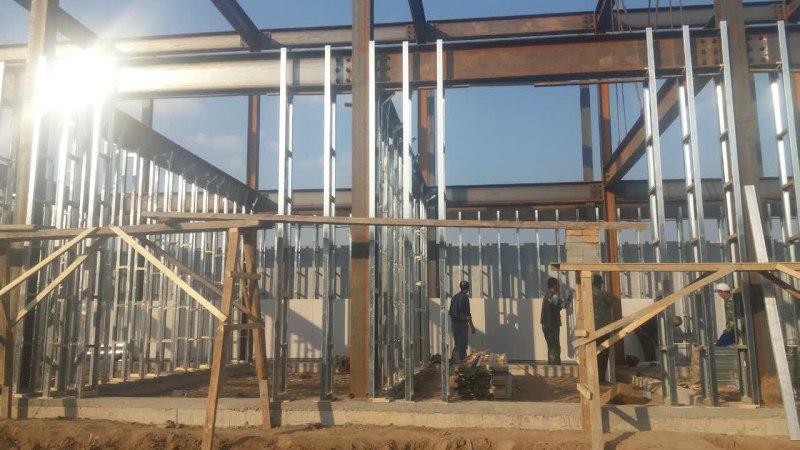 房屋钢构框架