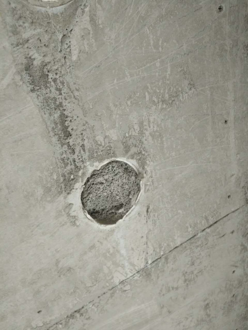 泡沫混凝土墙体浇筑检查口