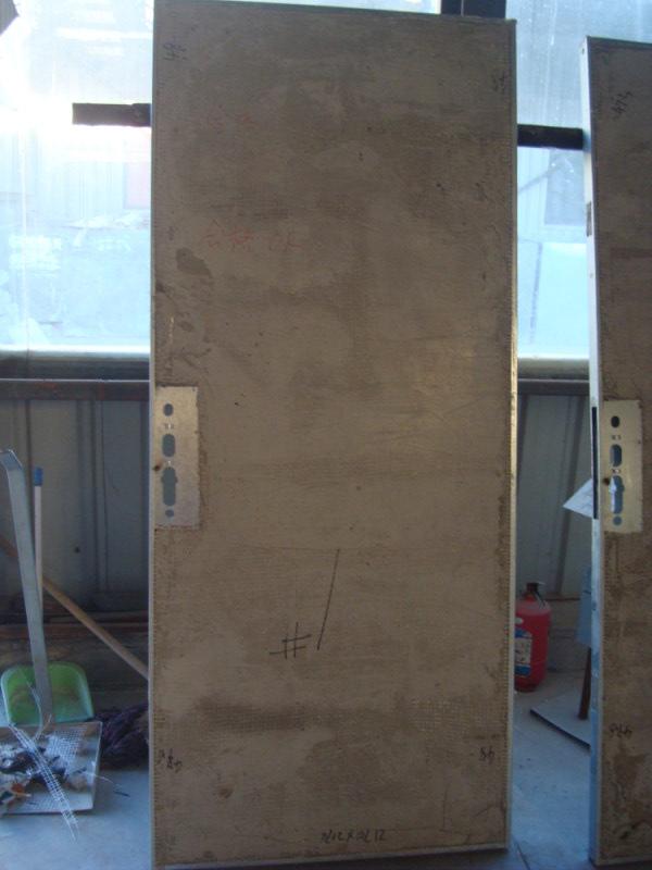 泡沫混凝土制作防火门芯板