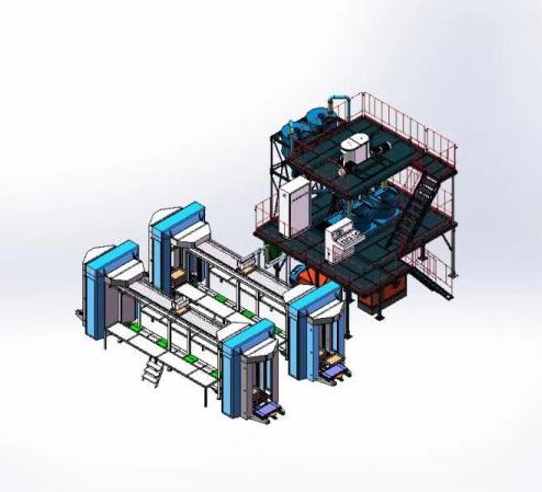 装配式墙板生产线设备